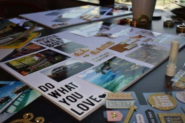 Vision Board Party Examples and Supplies