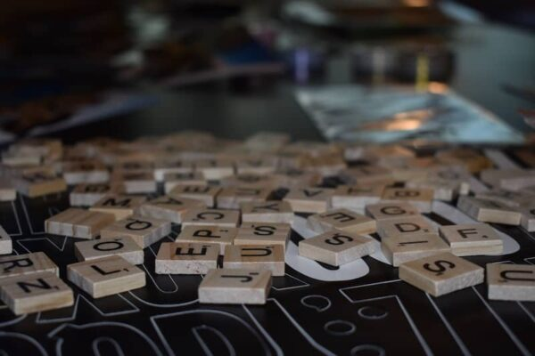 Vision Board Party Supplies Large Letter Stickers and Scrabble Pieces