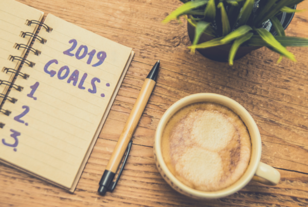 2019 Goal List