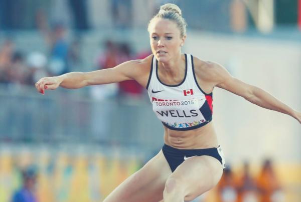 Sarah Wells Olympic Hurdles Canada