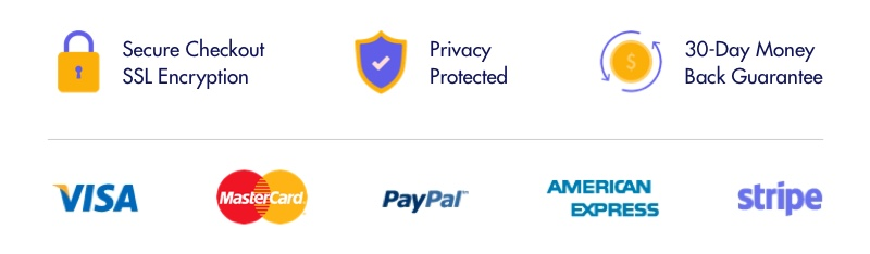 Secure Checkout Graphics